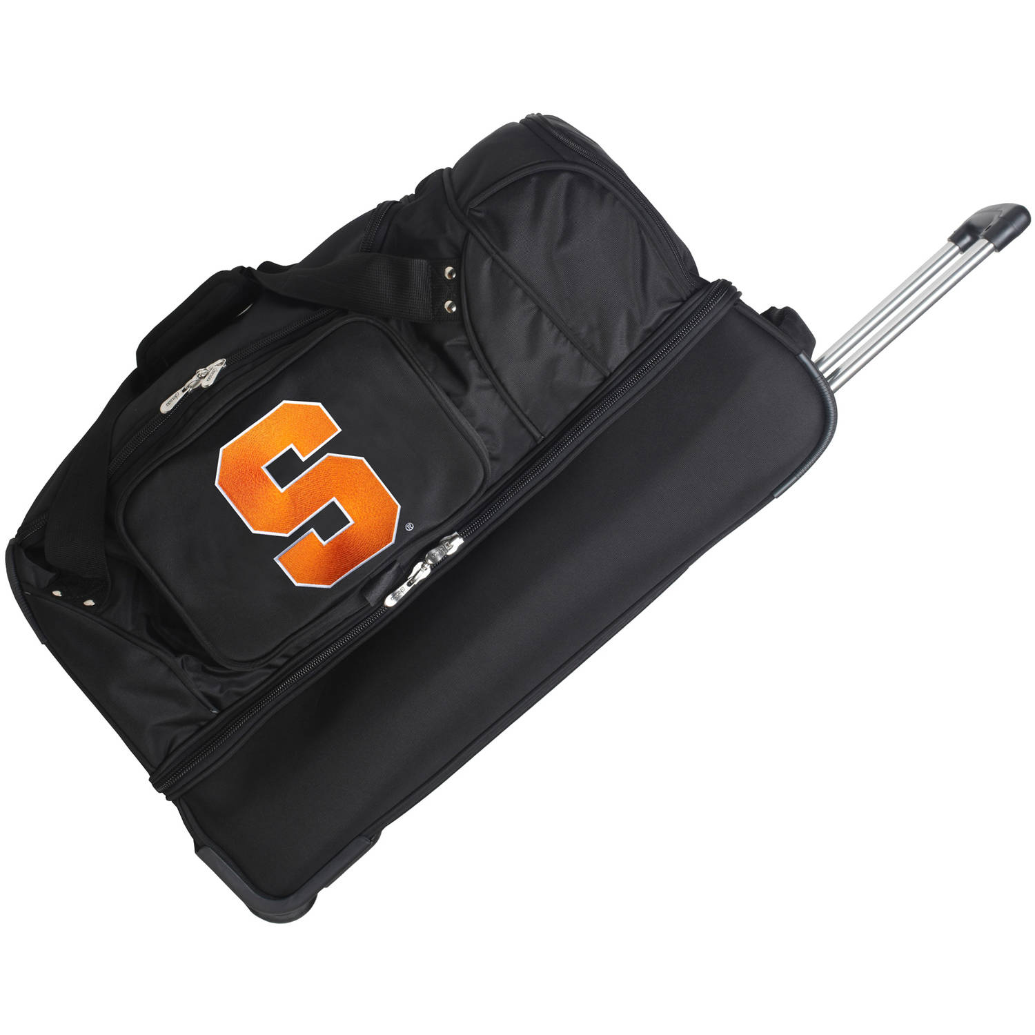 "Denco NCAA 27"" Rolling Drop Bottom Duffel, Syracuse"