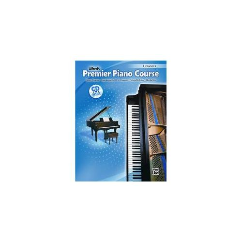 Alfred 00-32022 Premier Piano Course- Lesson Book 5 - Music Book