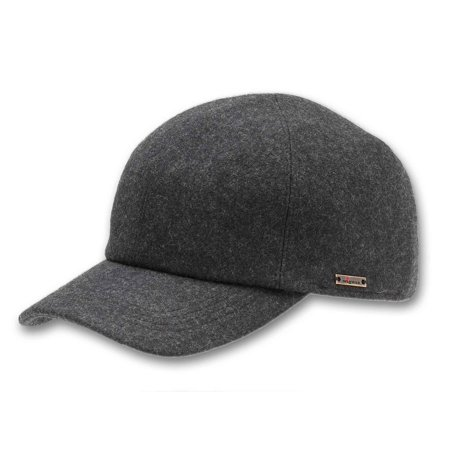Wigens - Men s Wool Baseball Cap with Earflaps - Walmart.com 2cd14604f14