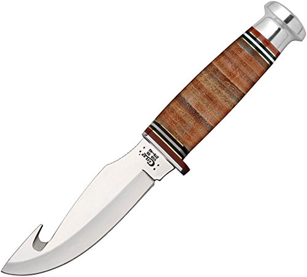 Fixed Blade Leather Hunter