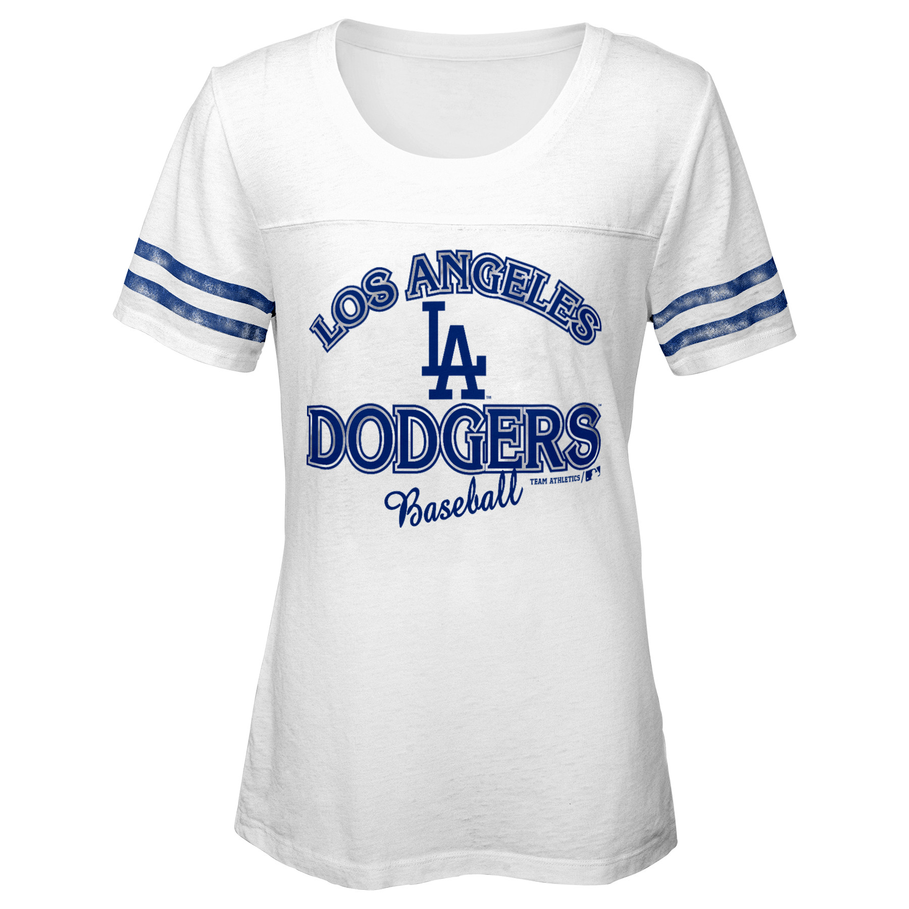 MLB Los Angeles Dodgers TEE Short Sleeve Girls Fashion 60% Cotton 40% Polyester Alternate Team Colors 7 - 16