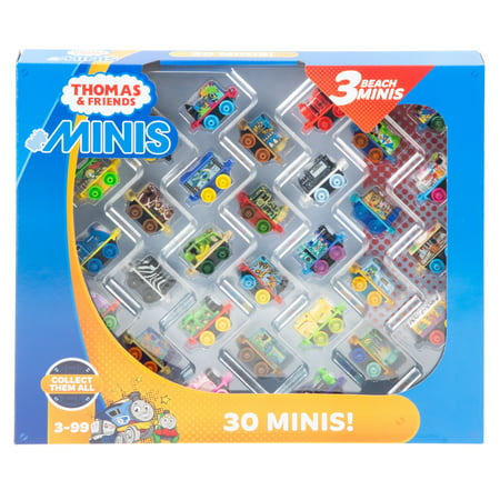 Thomas & Friends MINIS, 30-Pack 2018 Train Engines Set