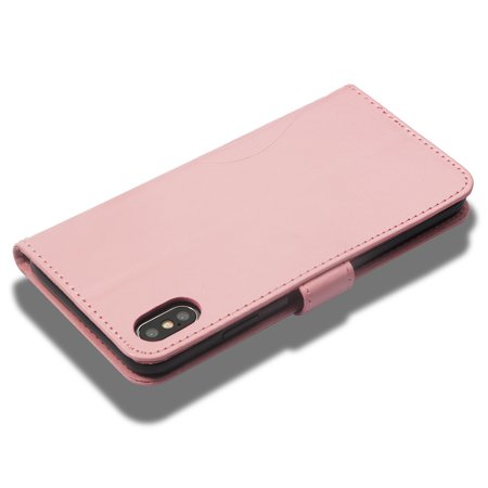 Ustyle Replacement for iPhone Xs Max Rhinestone Case Flip Wallet Cover Phone Holder Elegant Solid PU Leather Cover - image 7 of 9