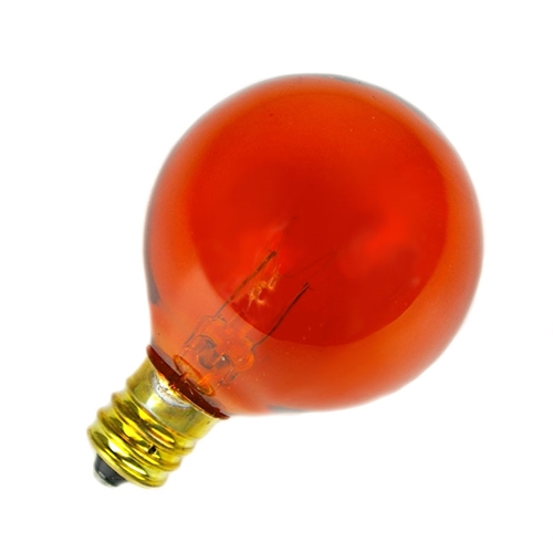Replacement Bulbs Replacement Globe Light Bulb G40 E12 5w