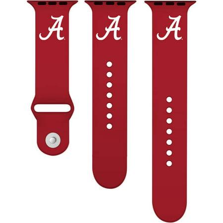 Alabama Crimson Tide 38mm Silicone Sport Band fits Apple Watch