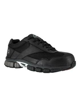 reebok work men's ketia performance leather, mesh cross trainer sneakers