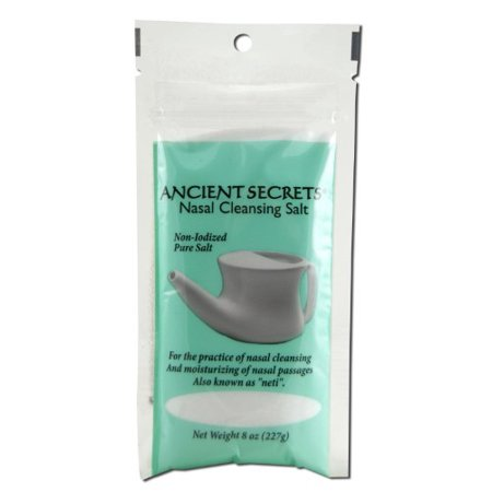 Ancient Secrets Nasal Cleansing Salt, 8 Oz ()