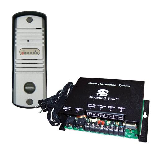 AC&NC DoorBell Fon S-Series SlimLine Door Station Kit, Al...