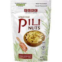 Sprouted Pili Nuts Himalayan Salt 1.7 oz