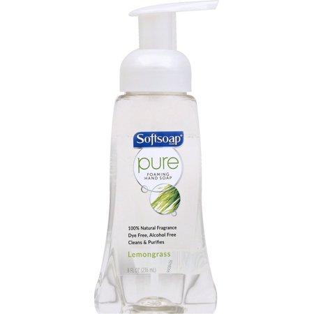 Softsoap Pure Foaming Hand Soap, Lemongrass 8 oz (Pack of 2)