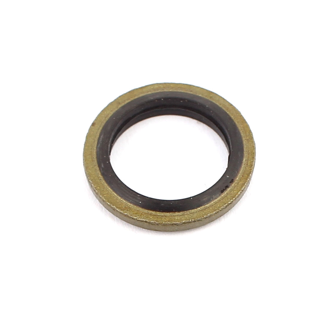 Unique Bargains20pcs 12mmx18mm Rubber Metal Combination Ring Resistant Oil Sealing Ring Gasket - image 1 of 2