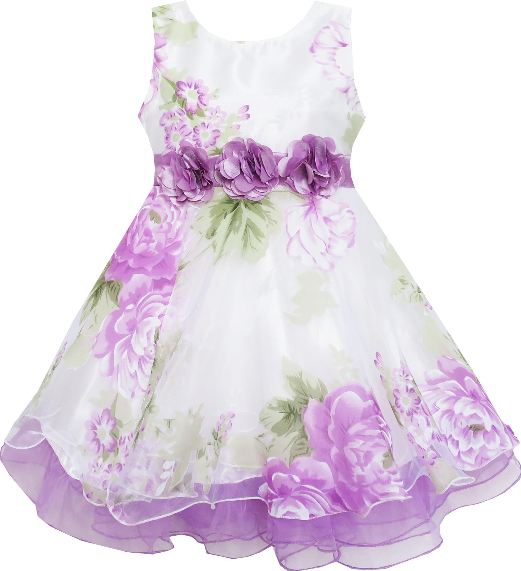 Fashionable flower girl dresses 19