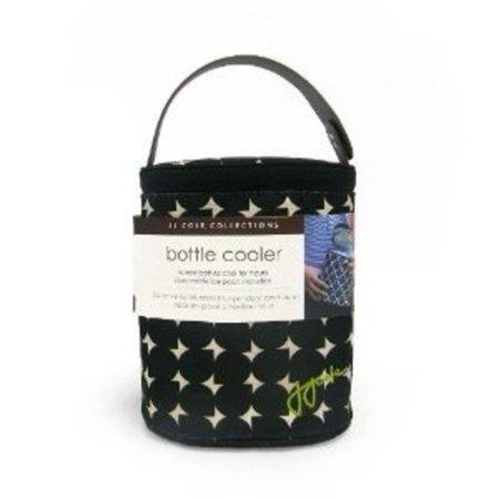 Jj Cole 2 Bottle Baby Cooler Bag Black Silver