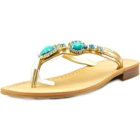 Ivanka Trump Palla Open Toe Leather Thong Sandal