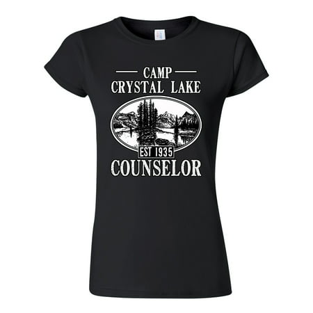 Junior Camp Crystal Lake Counselor 1935 Summer TV Parody Funny DT T-Shirt