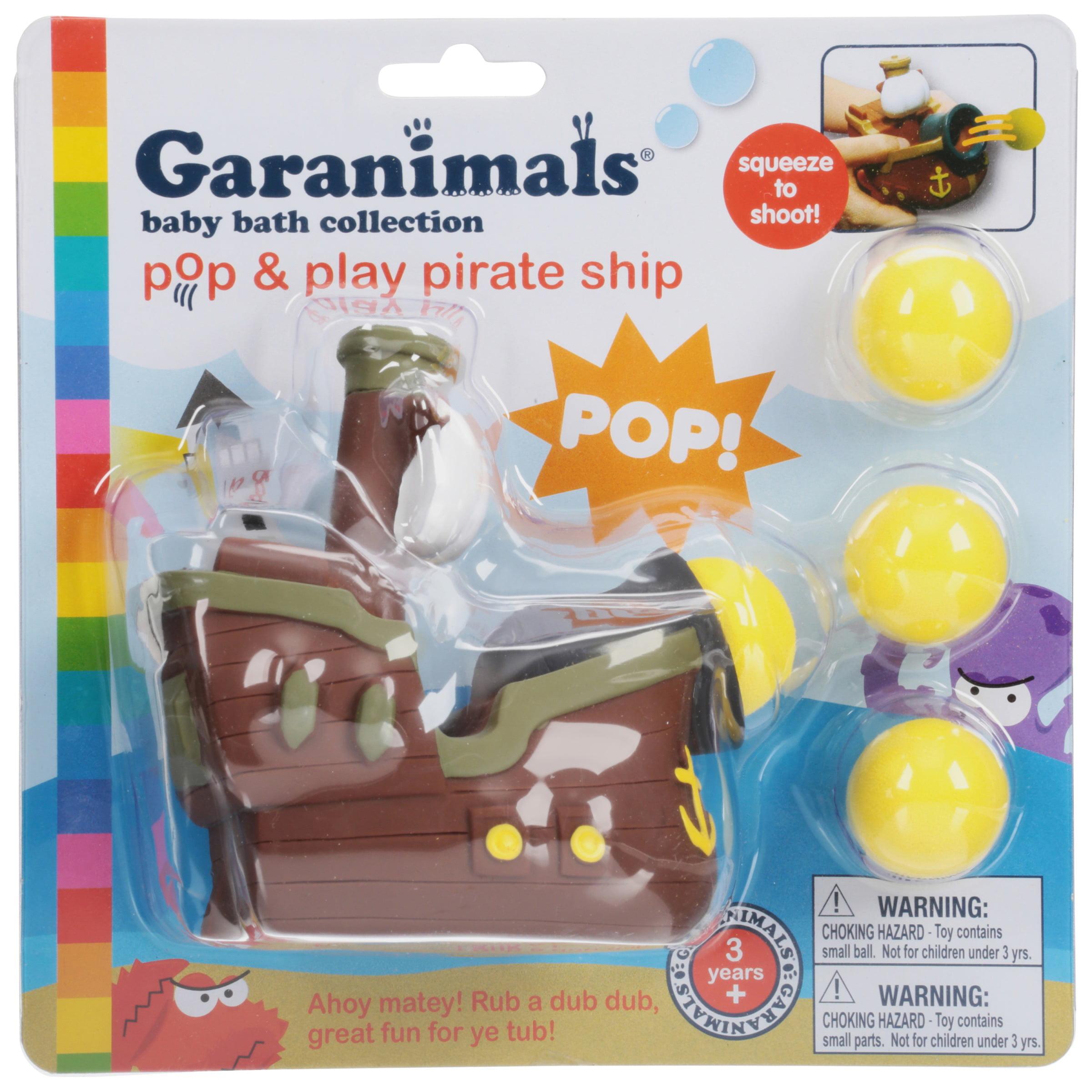 Garanimals®Baby Bath Collection Pop & Play Pirate Ship 5 pc Pack ...