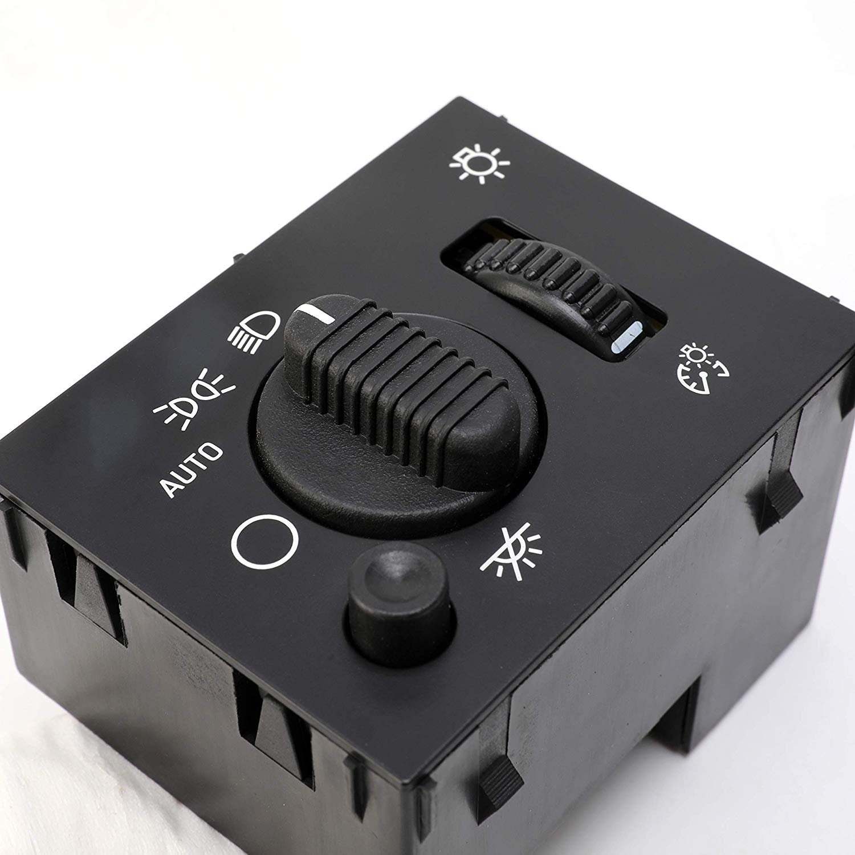 Headlight Switch Fits Chevy Silverado GMC Sierra 2003-2007 19381535 D1595G Headlamp Dimmer