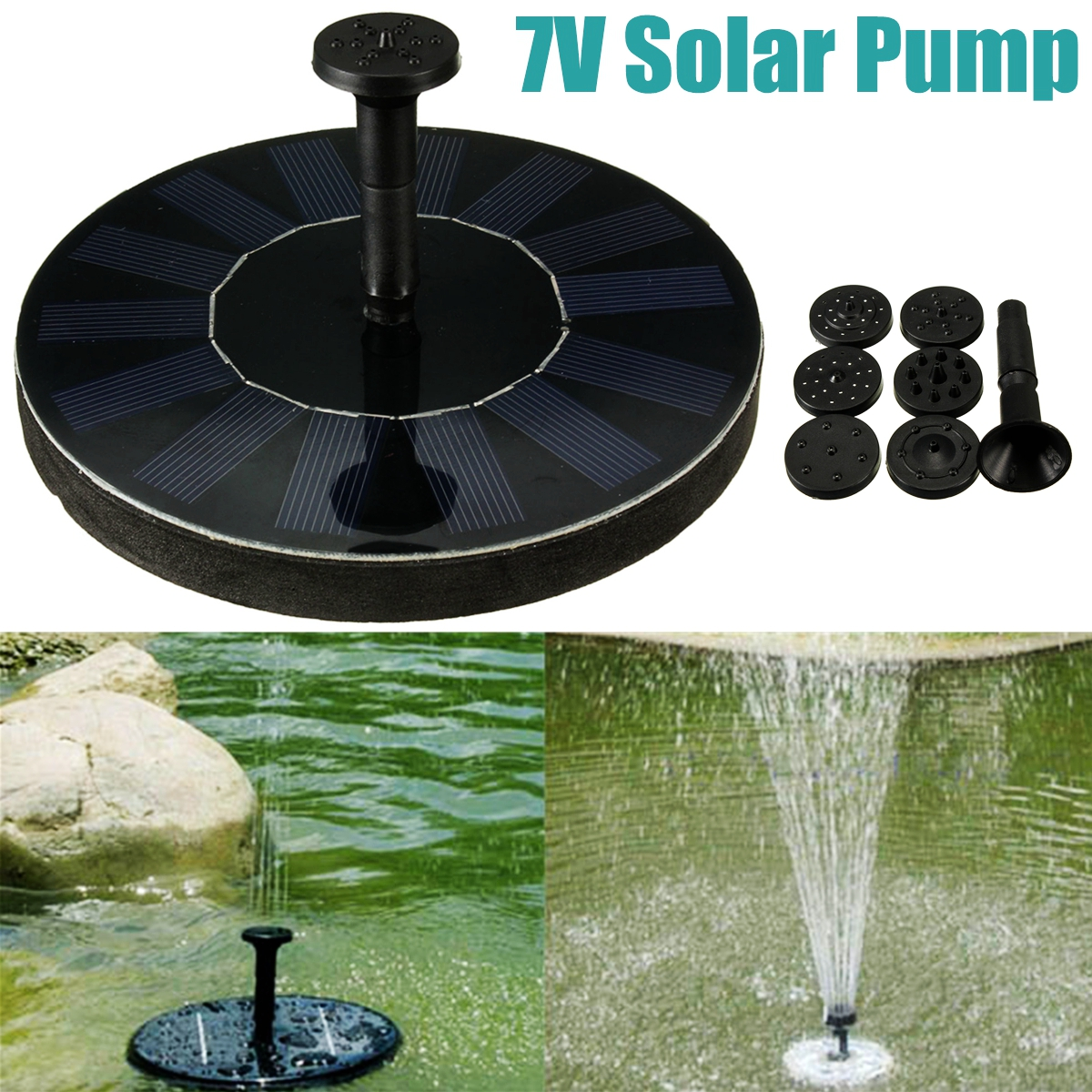 Small Pond Garden Decoration And Patio, Outdoor Water Fountain Pump Replacement