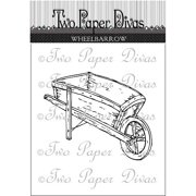 "Two Paper Divas Clear Stamps 6""x4.5""-whe"