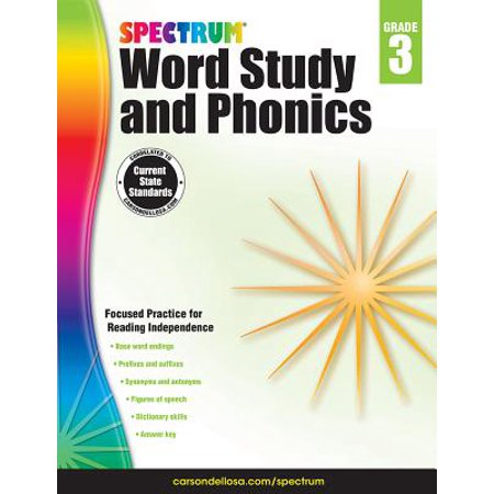 Spectrum Word Study and Phonics, Grade 3 (Lucy Calkins Units Of Study Grade 3)