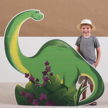 4 ft. 5 in. Dino Tales Brontosaurus Standee](Cardboard Dinosaur)