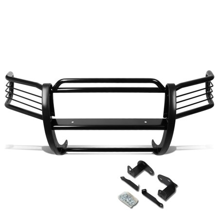 For 2001 to 2004 Ford Escape CD2 Front Bumper Protector Brush Grille Guard (Black) 02 03