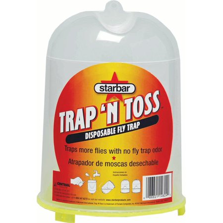 - TRAP-N-TOSS DISPOSABLE FLY TRAP