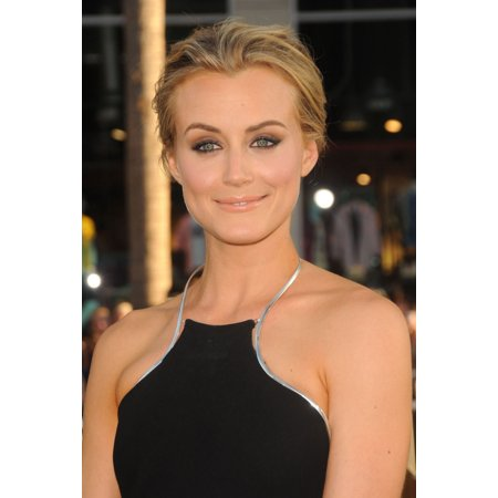 Taylor Schilling At Arrivals For The Lucky One Premiere Rolled Canvas Art     8 X 10