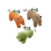 Ethical Products Vermont Fleece 4168 Plush Squeaker Tiger Dog Toy, Assorted Color, 10 Inch