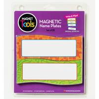 MAGNETIC NAME PLATES 20 PCS