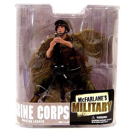 McFarlane Military Series 6 Marine Corps Mortar Loader Action Figure [Random Ethnicity]](Military Action Figures)