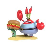SpongeBob SquarePants Mini Figure World Series 2 Mr. Krabs Plankton