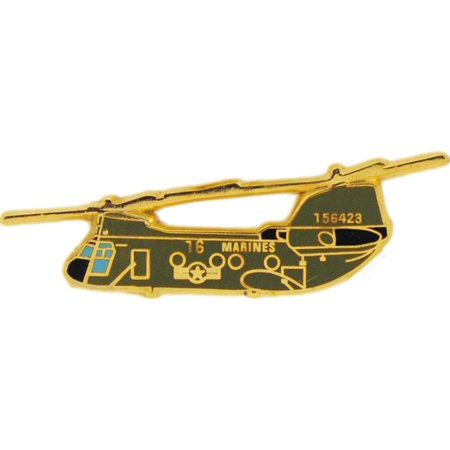 CH-46 Sea Knight Helicopter Pin 1 1/2