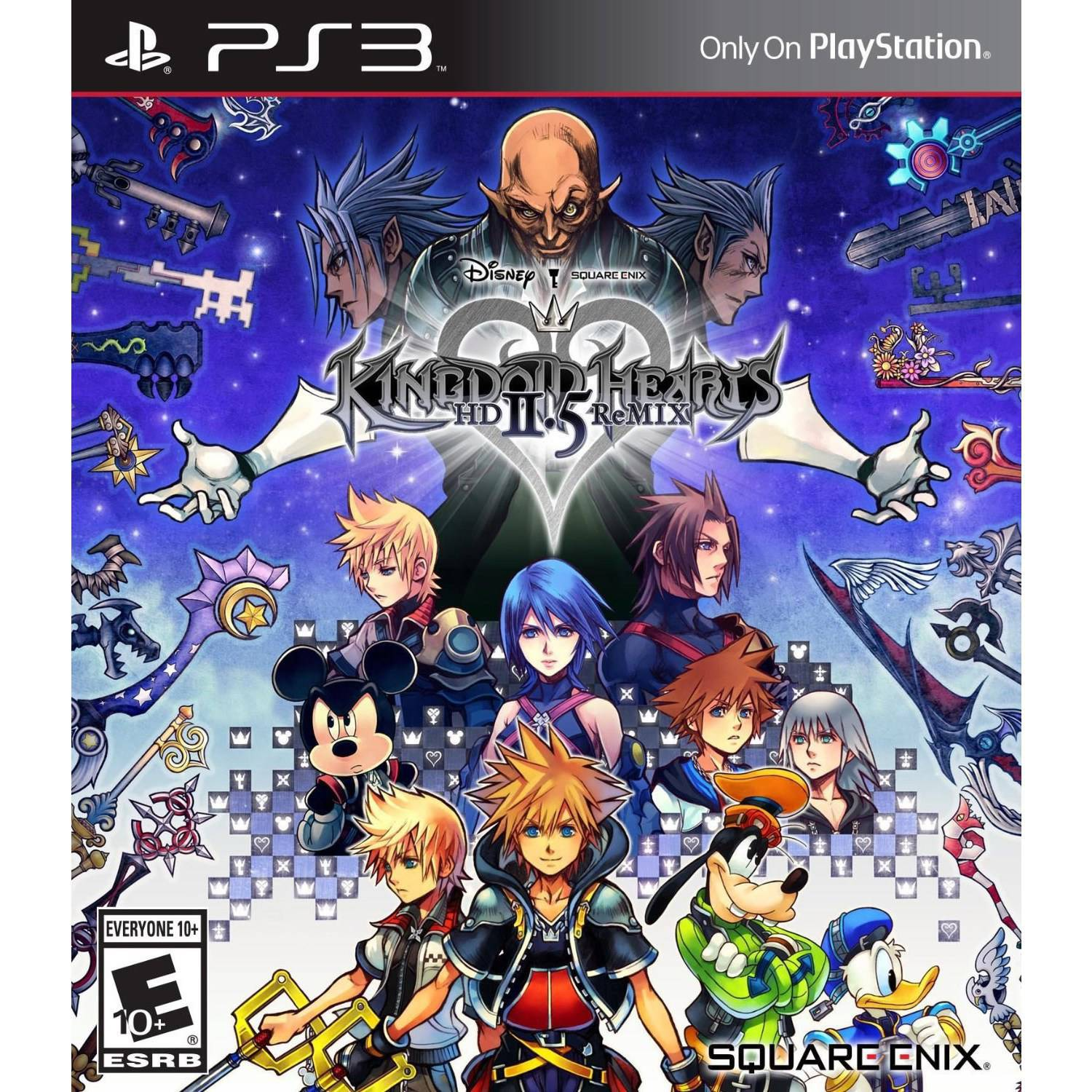 Kingdom Hearts HD 2.5 Remx (PS3) - Pre-Owned