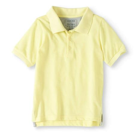 e9ee903d Cherokee - Boys' School Uniform Short Sleeve Pique Polo With Cooling ...
