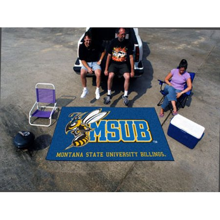 Fanmats Montana State   Billings Yellow Jackets Ulti Mat 5X8