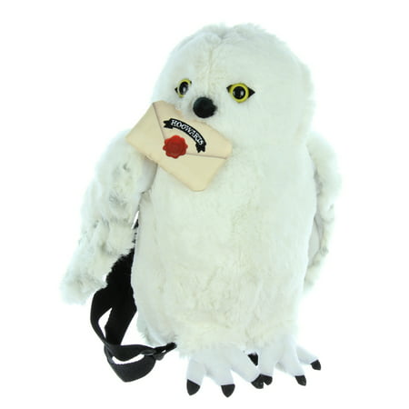 Harry Potter Hedwig Owl Plush Backpack Stuffed Animal - Hedwig Owl