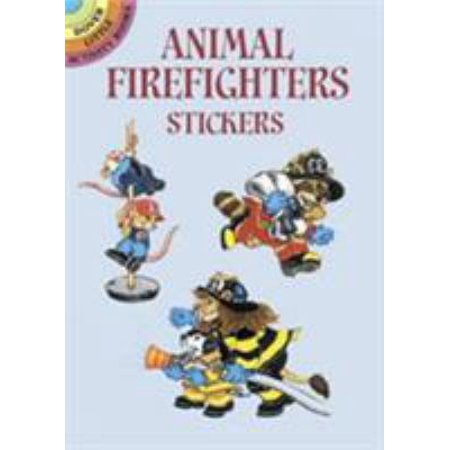 Animal Firefighters Stickers