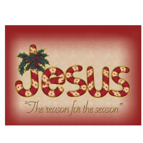 African American Expressions Jesus is the Reason - Christmas Card (Set of 15)