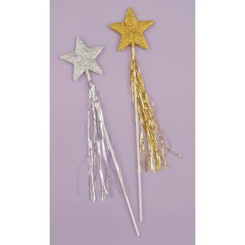 Glitter Star Wand (GLITTER STAR WAND-GOLD )