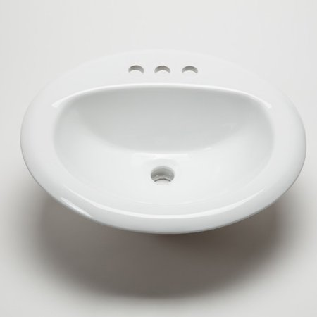 Hahn Ceramic Bowl Bathroom Sink - Walmart.com