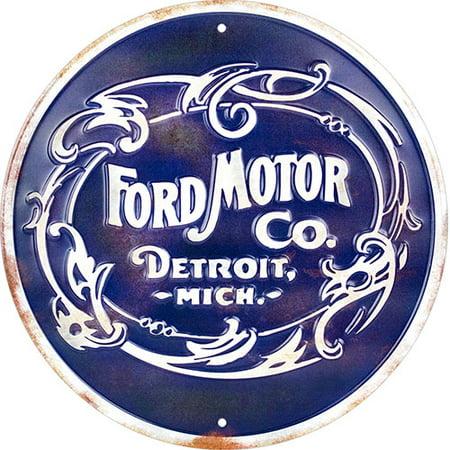 Ford Motor Company Detroit Michigan Circlular -