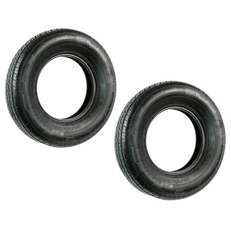 2-Pack TowMax Radial Trailer Tire ST205/75R15 Load C 39847 1820 Lb. Capacity Trailer Load Capacity