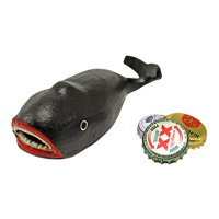 A Whale of a Story Cast Iron Bottle Opener by Design Toscano