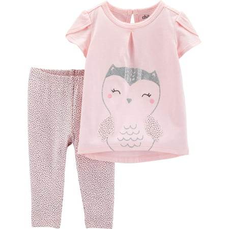 Peace Girl (Top and Pants Outfit, 2 Piece Set (Baby Girls))