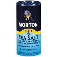 (2 pack) Morton Fine Mediterranean Sea Salt, 4.4 oz