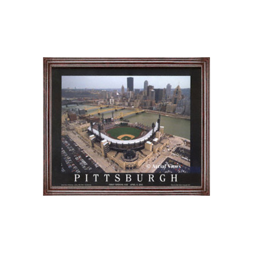 MLB - Pittsburgh Pirates - PNC Park - Framed 25x31 Aerial Photograph