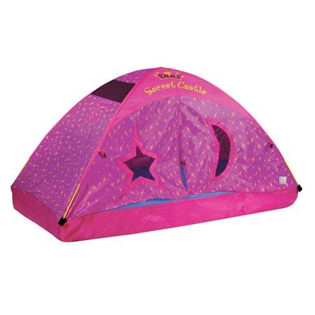 Secret Castel Bed Tent, Twin - Girl Teepee