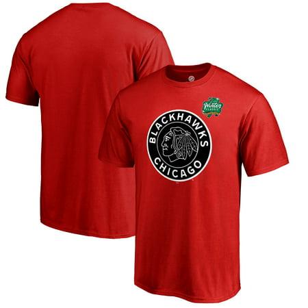 Chicago Blackhawks Fanatics Branded 2019 Winter Classic Primary Logo T-Shirt - (Blackhawks Best Player 2019)