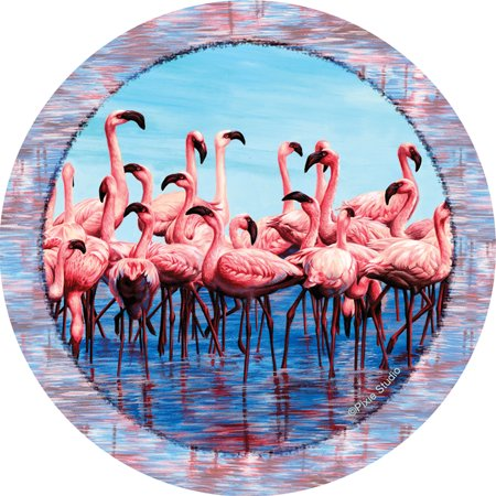 Thirstystone Occasions Drink Coasters, Flamingos